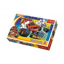 Trefl - Puzzle 60el. - Blaze - Co za Drużyna - 17305