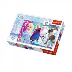 Trefl - Puzzle 60el. - Frozen - Niespodzianka Elzy - 17314