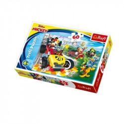 Trefl - Puzzle 60el. - Mickey Mouse - Rajd z Przyjaciółmi - 17322