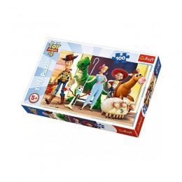 Trefl - Puzzle 100el. - Toy Story - Bawimy się - 16356