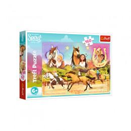 Trefl - Puzzle 160 el. - Spirit Riding Free - Trzy Przyjaciółki - 15370