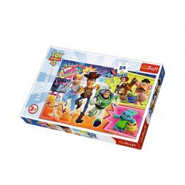 Trefl - Puzzle Maxi 24el. - W Pogoni za Przygodą - 14295