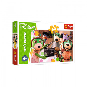 Trefl - Puzzle 60el. - Wspomnienia Treflika - 17329
