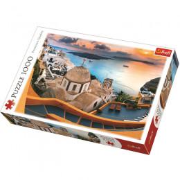 Trefl - Puzzle 1000el. - Bajkowe Santorini - 10445