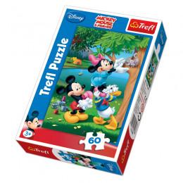 Trefl - Puzzle 60el. - Piknik z Donaldem - 17198