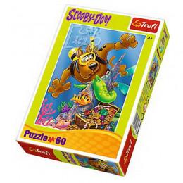 Trefl - Puzzle 60 el. - Scooby-Doo - Nurkowanie - 17287