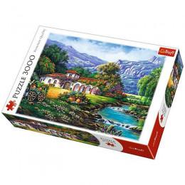 Trefl - Puzzle 3000 el. - Hacjenda nad strumieniem - 33051