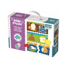 Trefl - Baby Puzzle - Sorter Kształtów - 36078