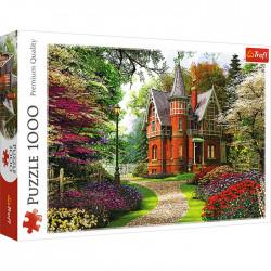 Trefl - 10355 - Wiktoriański dom - Puzzle 1000 elementów