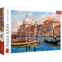 Trefl - 10460 - Popołudnie w Wenecji - Puzzle 1000 elementów