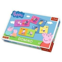 Trefl - Gra Domino Świnka Peppa - 01216