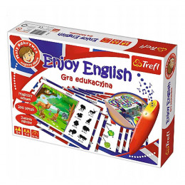 Trefl - Gra edukacyjna - Enjoy English - 01605