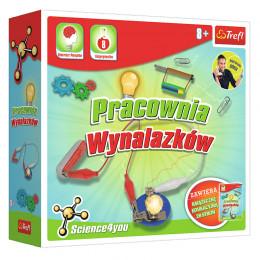 Trefl - Science4you - Pracownia wynalazków - Doświadczenia dla dzieci - 60715