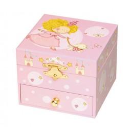 Trousselier S20701 Mała szkatułka z pozytywką - Królewna z pieskiem