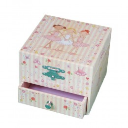 Trousselier S20933 Mała szkatułka z pozytywką - Balleriny