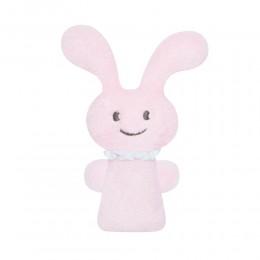 Trousselier V102903 Pluszowy króliczek - grzechotka - Różowy