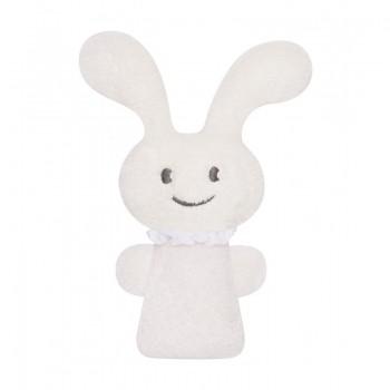 Trousselier V102913 Pluszowy króliczek - grzechotka - Beżowy