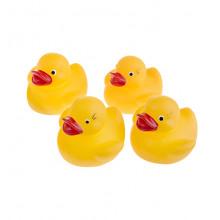 Tullo - Gumowe kaczuszki do kąpieli - 4szt. 012