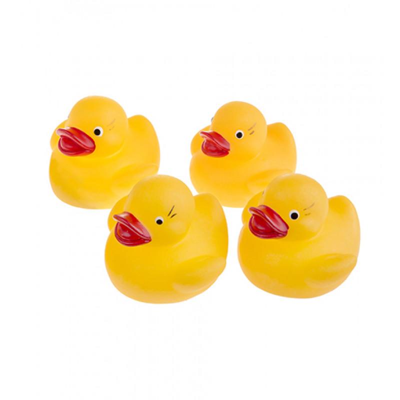 23651bfcc13171 Tullo - Gumowe kaczuszki do kąpieli - 4szt. 012 - sklep zabawkowy ...