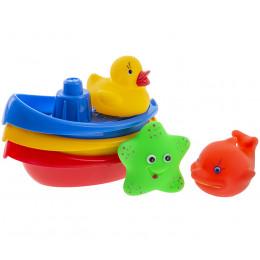 Tullo - Łódeczki do kąpieli ze zwierzątkami - 123