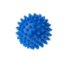 Tullo - Piłka rehabilitacyjna z kolcami 6,6cm- Jeżyk niebieski 400