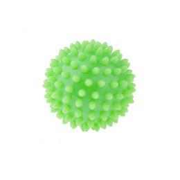 Tullo - Piłka rehabilitacyjna z kolcami 6,6cm- Jeżyk zielony 400