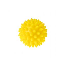 Tullo - Piłka rehabilitacyjna z kolcami 5,4cm- Jeżyk żółty 401