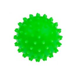 Tullo - Piłka rehabilitacyjna 7,6cm - Zielony jeżyk 407