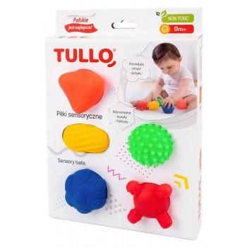 Tullo – Piłki sensoryczne 5szt. 420