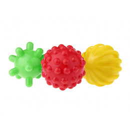 Tullo - Zestaw piłek sensorycznych 3szt. - 450