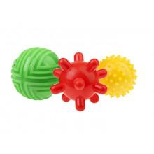 Tullo - Zestaw piłek sensorycznych 3szt. - 453