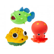 Tullo - Gumowe zwierzątka do kąpieli - 3szt. 503