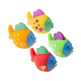 Tullo - Gumowe rybki do kąpieli - 4szt. 505