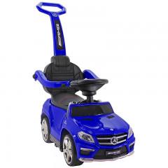 Jeździk Mercedes AMG Biturbo 4w1 - niebieski GL63