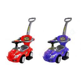 Jeździk 3w1 - Chodzik, pchacz, autko - Wyścigówka - Kolor do wyboru