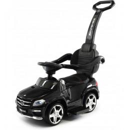 Jeździk-pchacz-chodzik Mercedes AMG Biturbo 4w1 - czarny GL63