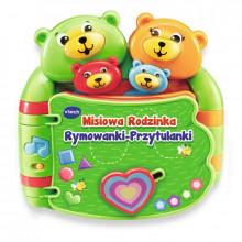VTech Baby - Książeczka Misiowa Rodzinka - Rymowanki-Przytulanki 60993