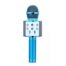 WSIER – Mikrofon bezprzewodowy z głośnikiem – Niebieski JYWK369