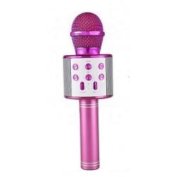 WSIER – Mikrofon bezprzewodowy z głośnikiem – Róż JYWK369