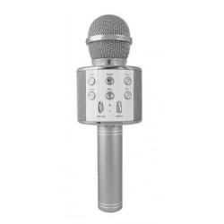 WSIER – Mikrofon bezprzewodowy z głośnikiem – Srebrny JYWK369