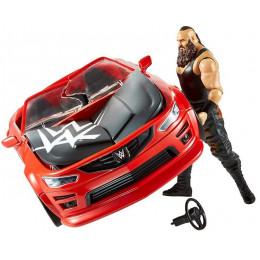 WWE Wrestling - Wrekkin - Slam Mobile + figurka akcji Braun Strowman GDC21