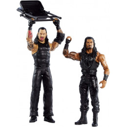 WWE Wrestling - Dwupak figurek – Roman Reigns i Undertaker – GLB34