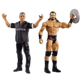 WWE Wrestling - Dwupak figurek – Drew McIntyre i Shane McMahon – GLB35