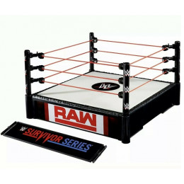 WWE Wrestling - Ring do ogrywania walk – RAW Survivor Series – GLF14