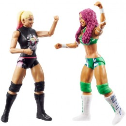 WWE Wrestling – Dwupak figurek Championship Showdown – Sasha Banks vs Alexa Bliss GVJ13