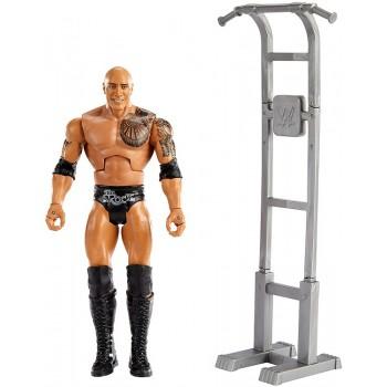 WWE Wrestling – Wrekkin – Figurka The Rock + rekwizyt GVJ35