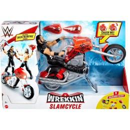 WWE Wrestling – Slamcycle – Motocykl demolka + figurka Drew McIntyre GYX60