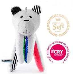 Whisbear - Szumiący Miś na sen Premium CRYSENSOR - Arbuz