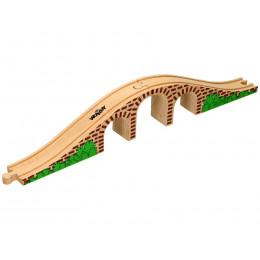 Woodyland - Drewniany wiadukt kolejowy - 90059