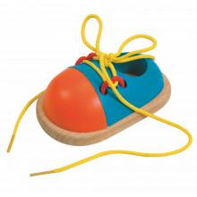 Woodyland - Drewniany but do nauki sznurowania - 90625
